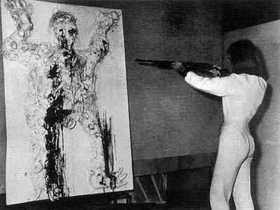 Niki de Saint Phalle - Fusil