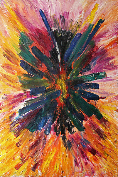 Jill Joy - A Strange and Beautiful Flower - oil on canvas - 72x48 - 2006.jpg