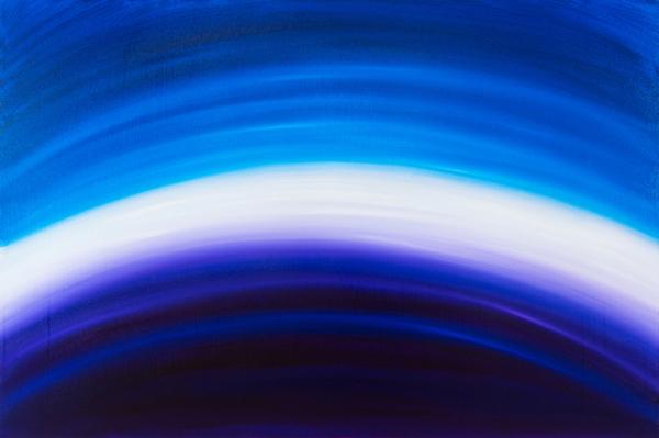 "Jill Joy -  Twilight Band  - oil on canvas - 48x72"" - 2017 | $9,000"