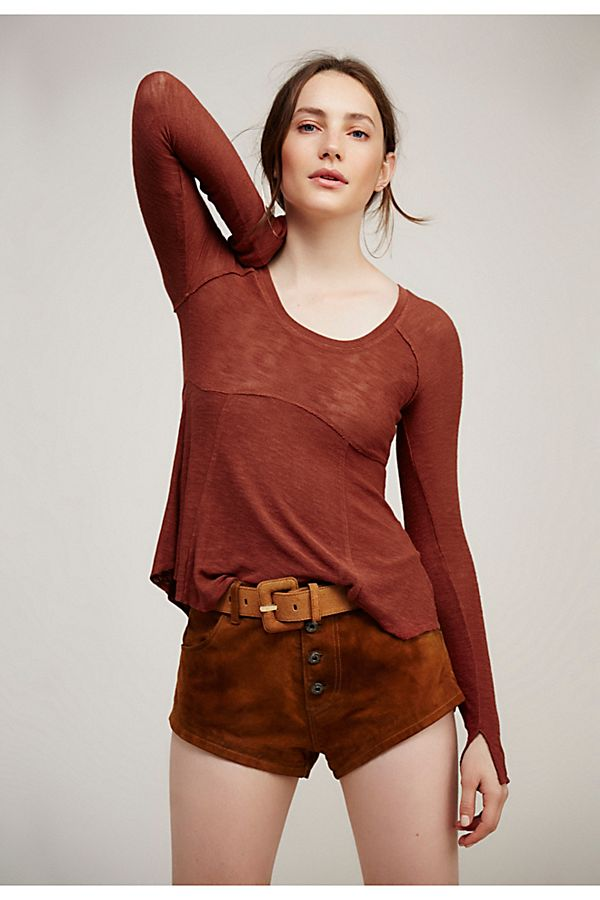 Like that this one creates curvature in a casual way — to wear untucked