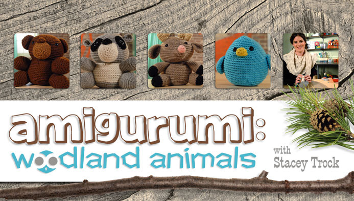 Amigurumi: Woodland Animals on Craftsy