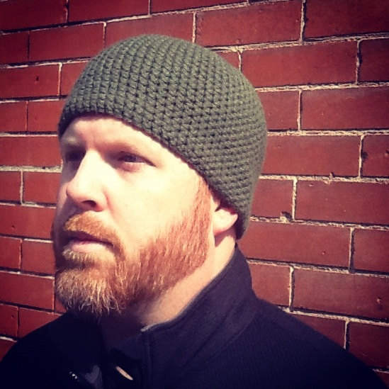 mens beanie easy crochet pattern