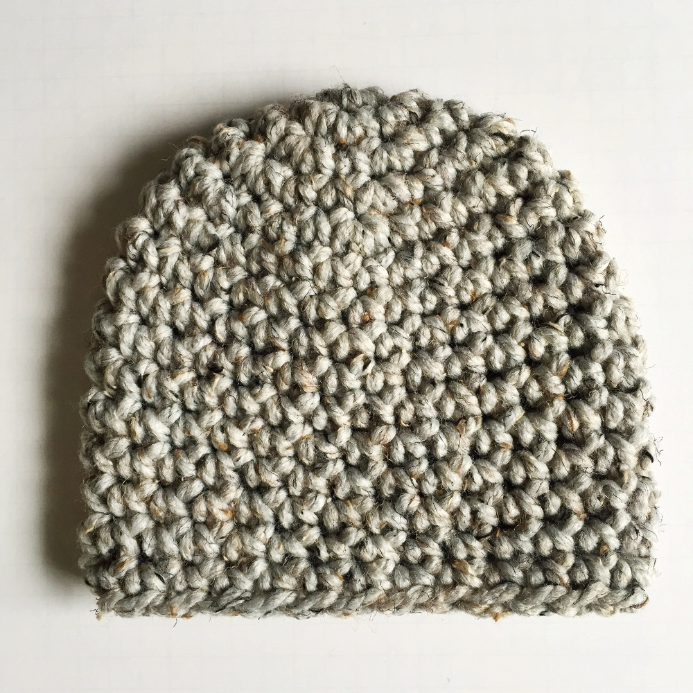 Crochet Hat Pattern Super Bulky Yarn : Super Chunky Granite Beanie Crochet Pattern ? Denver ...