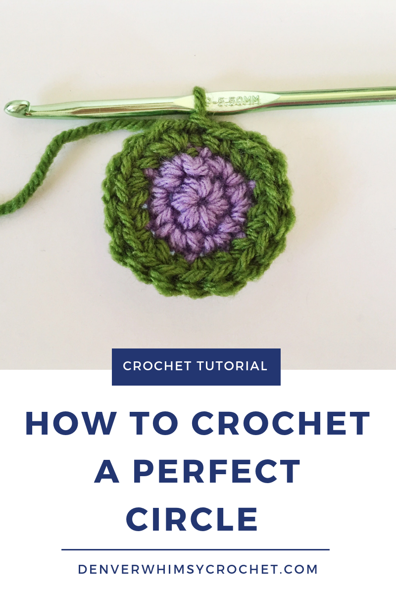 Have you ever tried to crochet a perfect circle? The most common technique for crocheting round shapes is called crocheting in the round. When you crochet in the round you create a spiral going out as you increase. But, when you want to change colors when you're making something like a beanie with a stripe, you end up with a funky-looking jog. Not cute. When you crochet in the round, you never get to the point of finishing a circle or closing it to make it nice and neat. So, in this crochet tutorial, you'll learn how to crocheted in joined rounds in order to make a perfect circle! Click through to watch the video tutorial now.