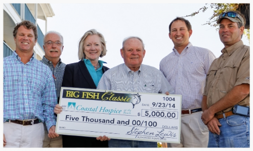 above: Big Fish Classic Raised $5000 for Coastal Hospice at the Beach in 2014! left: Big Fish Classic Raised $2500 for DIAKONIA a Worcester County Shelter in West Ocean City helping people is need in 2014!