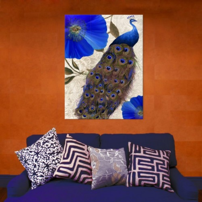 Bring saturated colors into your home to wake up your rooms.