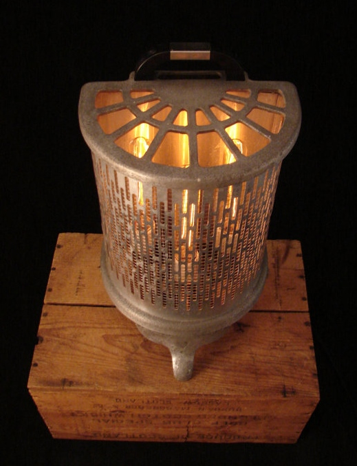 7. Etsy shop: Benclif Designs $205  Upcycled 1930's heater
