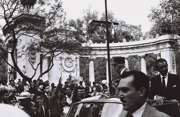 French President Charles De Gaulle in Mexico