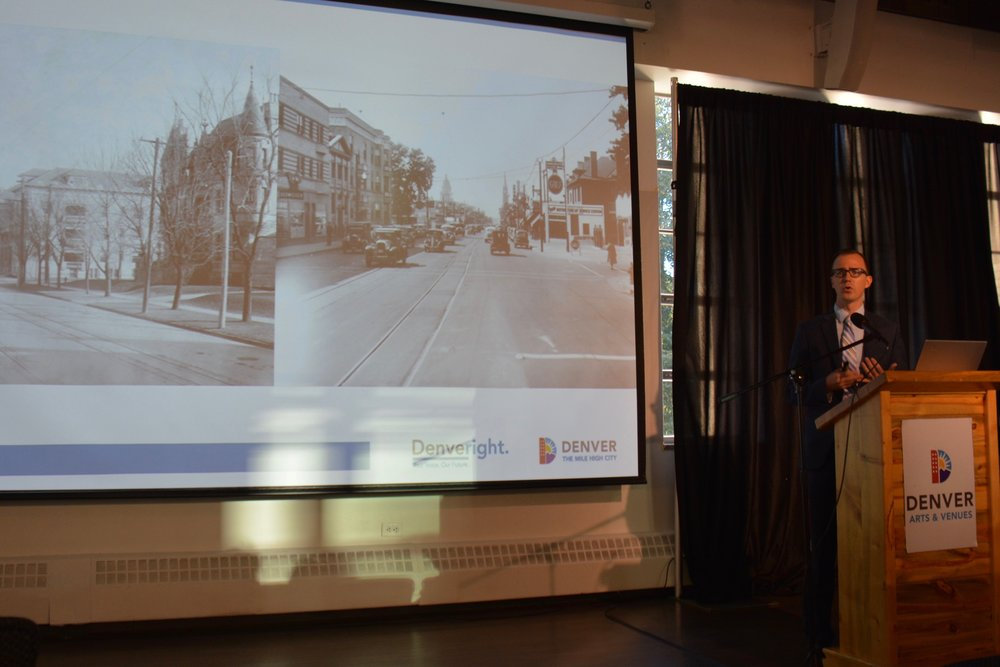 Jay Renkens, Principal & Director of Denver Area Operations at the architectural and planning firm MIG, reviewed Denver's previous planning successes and outlined the current planning process.