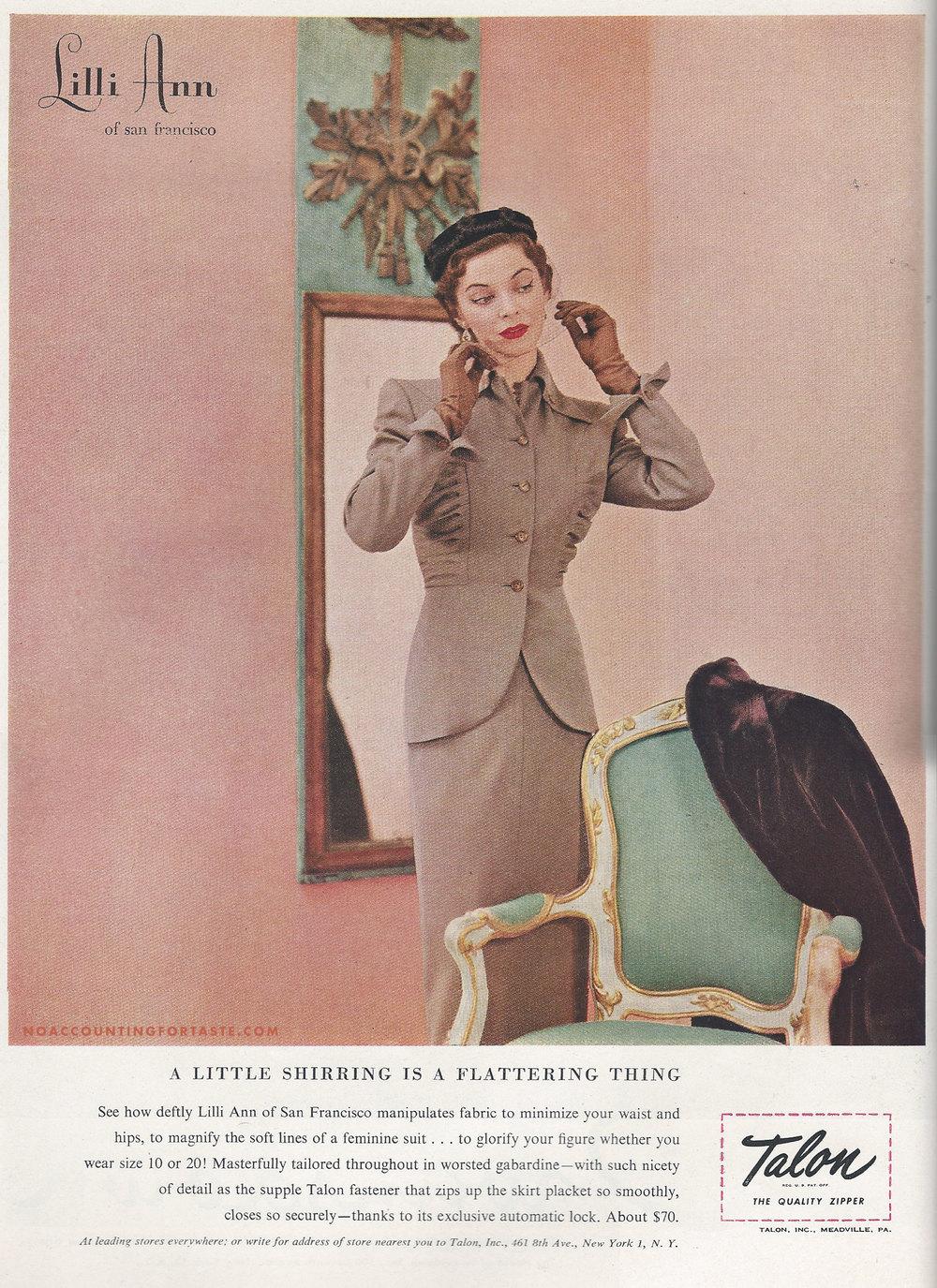 Vogue, August 15, 1950.