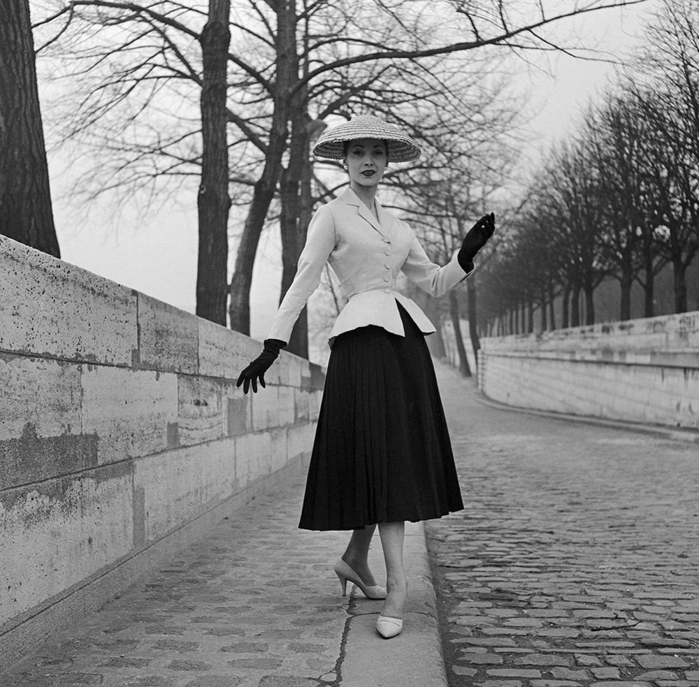 Christian Dior by Willy Maywald