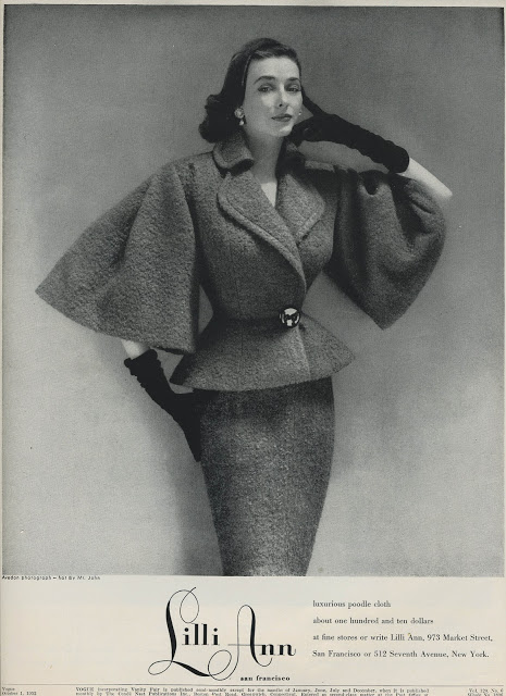 Photo by Richard Avedon for Vogue, 1952