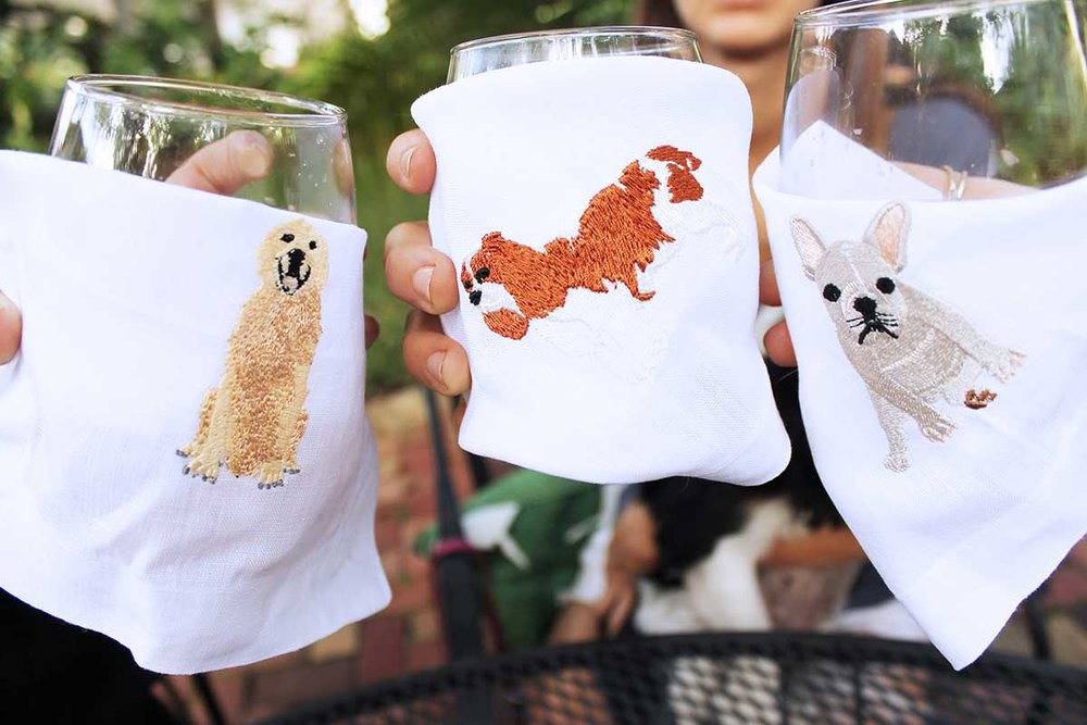 Lettermade Puppy Cocktail Napkins