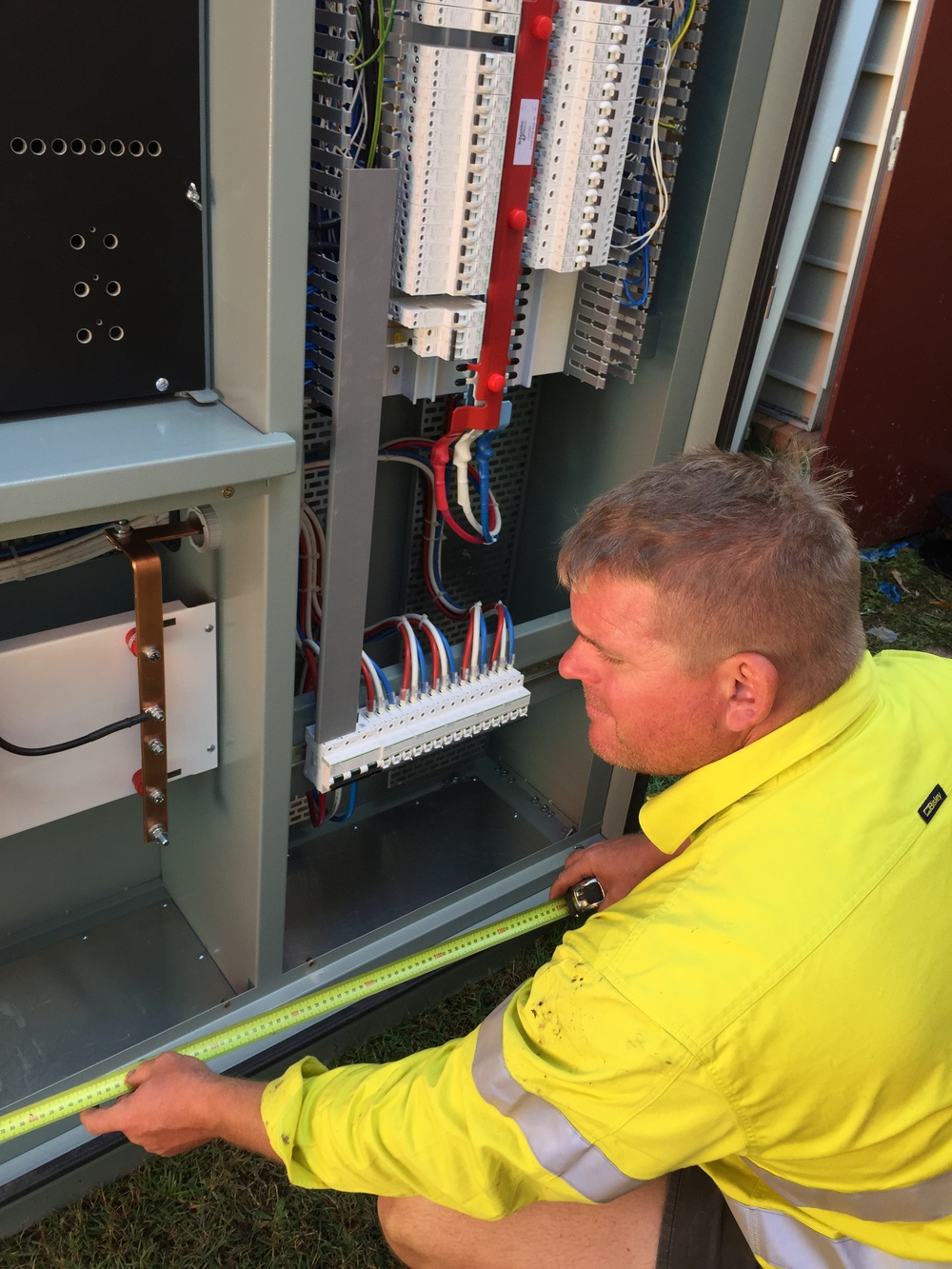 Main Switchboard upgrade, Maryborough