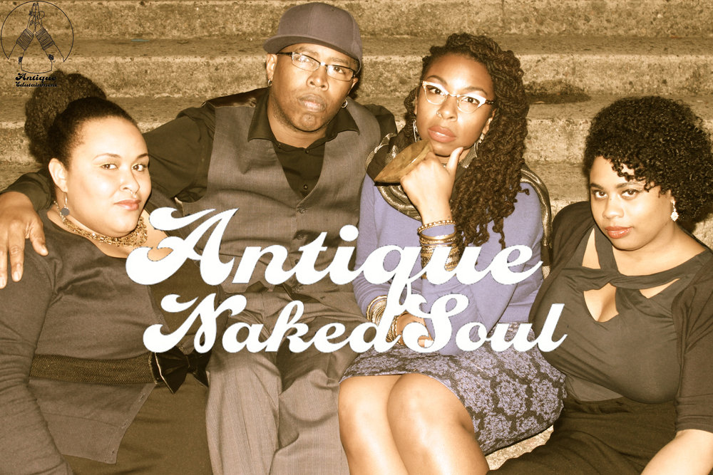 Candice is the lead singer of beat boxing soul band Antique Naked Soul.