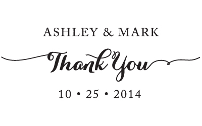 thank you stamp b5 55 save the date custom stamps embossers gifts