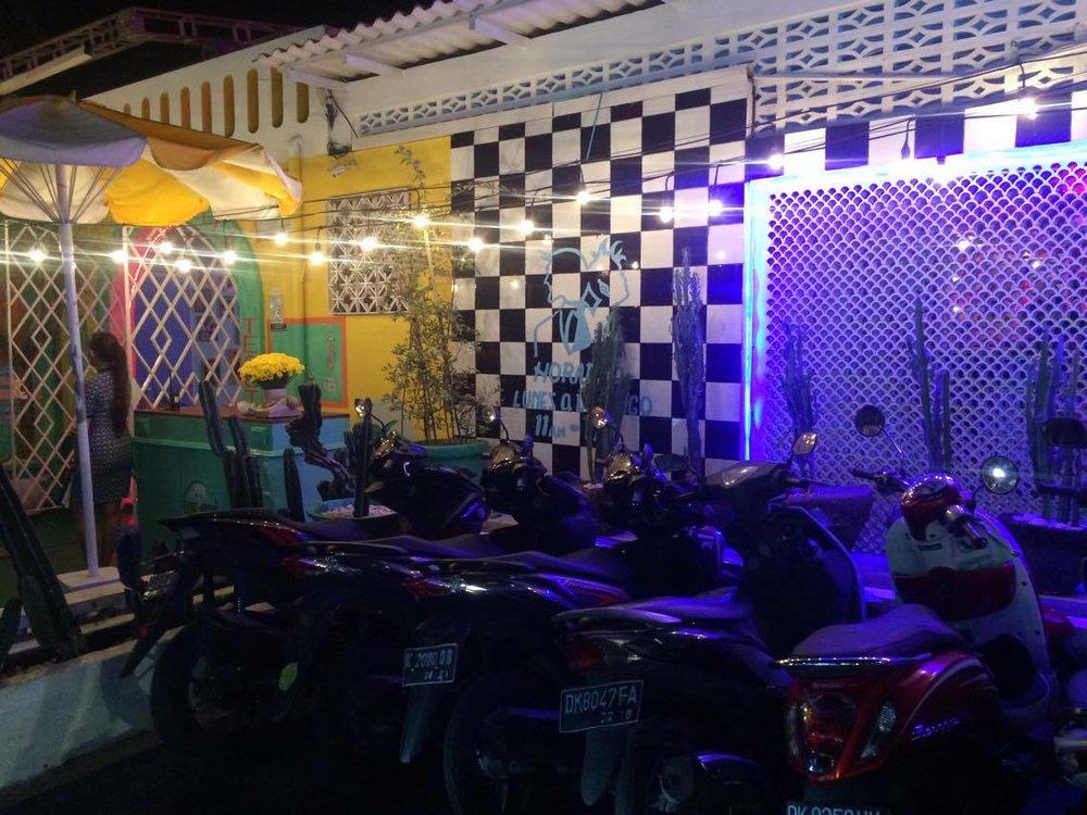 Motel Mexicola entrance