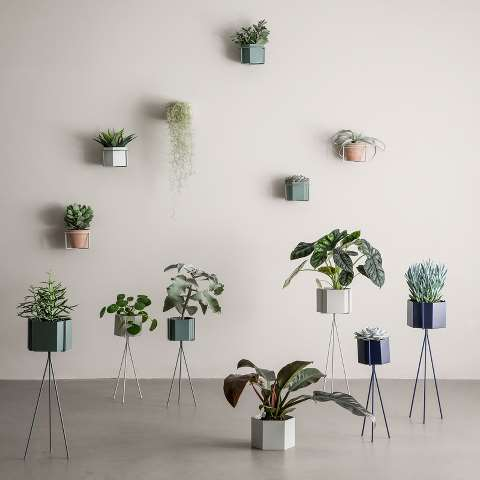 I want these  Ferm Living  planters in my living room!