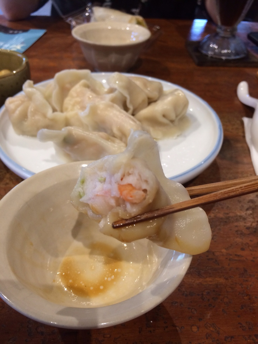 Seafood dumplings from  都蘭小房子