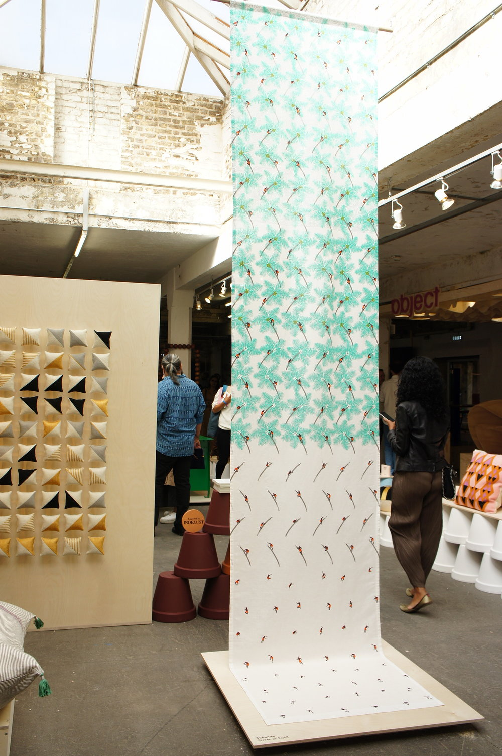 This is India exhibit at London Design Fair