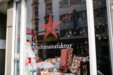 Quiltmanufaktur - Patchwork-und Stoffgeschäft Frankfurt am Main - Wallstrasse 18 - Brückenviertel