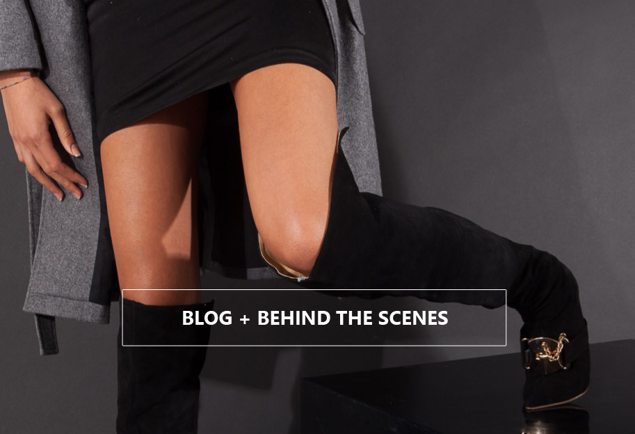 Blog and behind the scenes