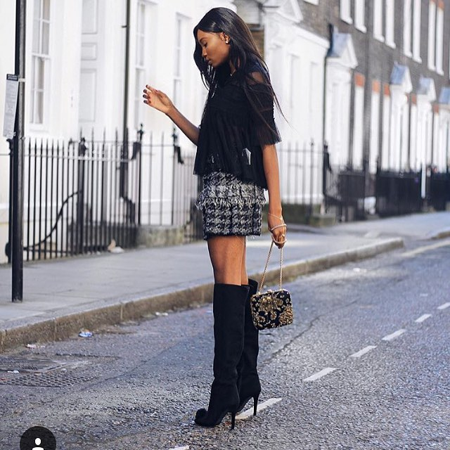 Today we are crushing on the gorgeous @paulaokunzuwa in our knee high Pom Pom boots... we're just getting started  #mifani #autumn #shoes #boots #pompom #girlsquad #womensdesigner #womensstyle #womensfashion #womensshoes #fashion #fashionista #fashionstyle #fashionlover #style #stylist #ootd #friday #shoesporn #kneehighboots #instastyle #shoesaddict #footwear #stylediaries #potd #fblogger #fashionblogger