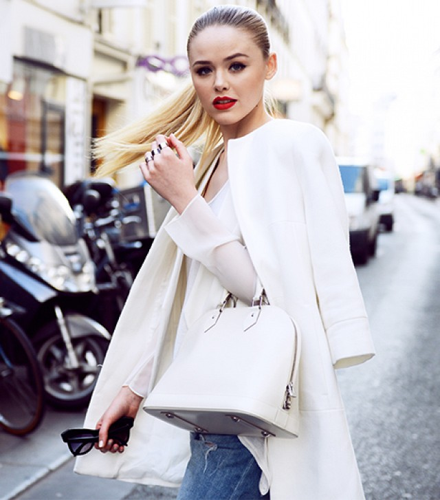 Kristina Bazan www.kayture.com - Kristina is a Swiss model and blogger known as the brand ambassador for L'Oreal Paris - a deal that allegedly made her seven figures last yearmbassador for L'Oreal Paris - a deal that allegedly made her seven figures last year