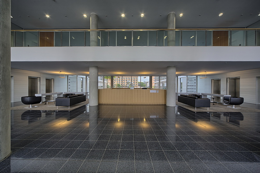 Lobby des H2Office