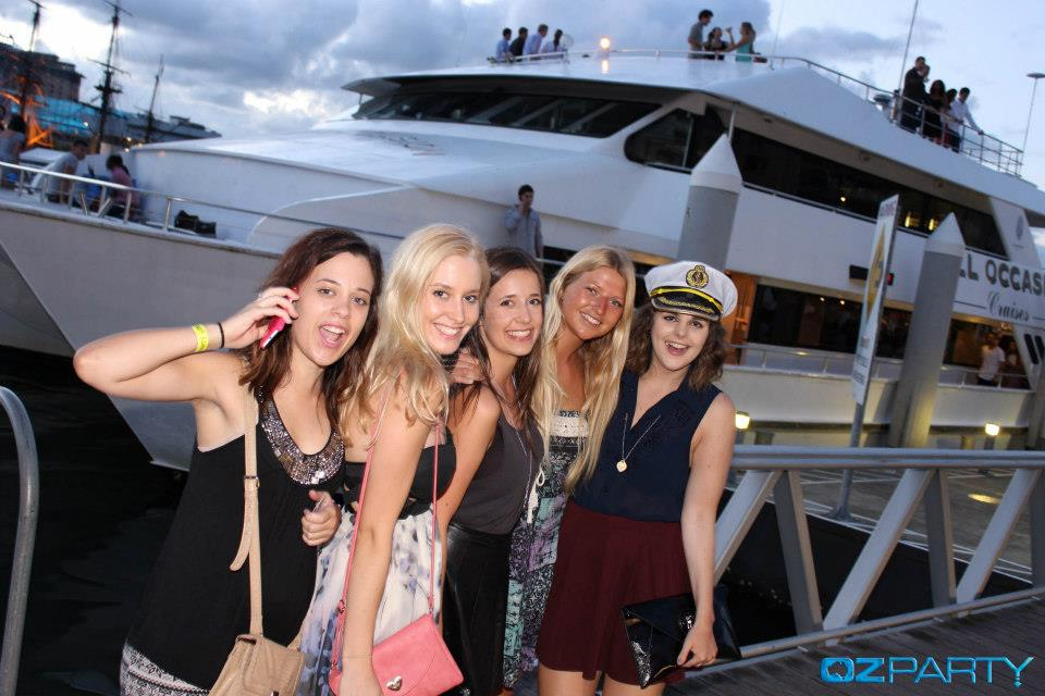 OzParty Exclusive Sunset Sailing Afterparty