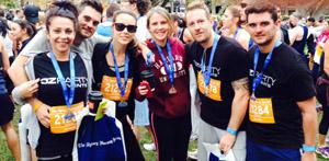 OzParty Team - SMH Half - Marathon