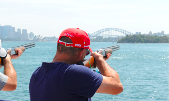 Clay Pigeon Shooting Sydney