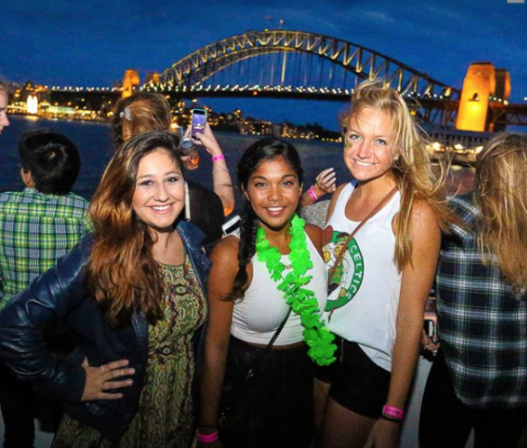 OzParty Events St. Patricks Day Cruise