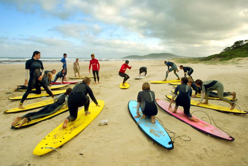 OzParty Events: Learn to Surf