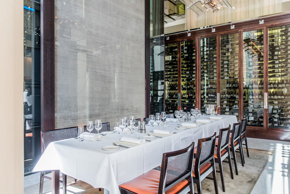 Image Ref: Glass Brasserie Private Dining at The Hilton, Sydney