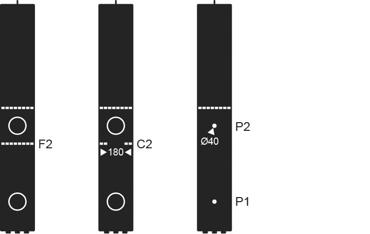 Tomcat 2 Features & Options Diagram