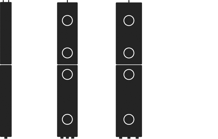 Example Two Piece Units