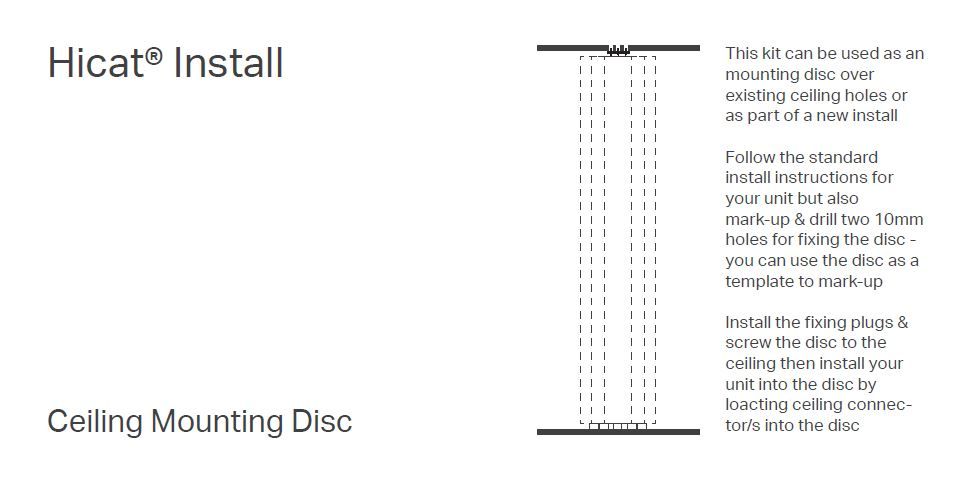PDF Download Ceiling Mounting Disc