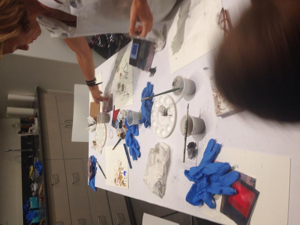 Al fresco painting lab 8/4/2015