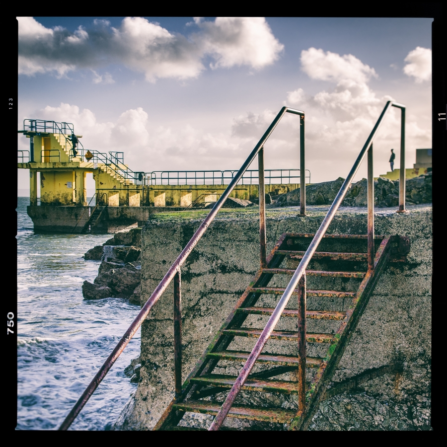 The old diving tower in Salthill. I was simply looking for a different angle, something that isn't always easy, when it comes to iconic landmarks.