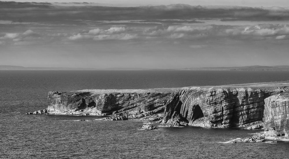 Sea cliffs on the peninsula
