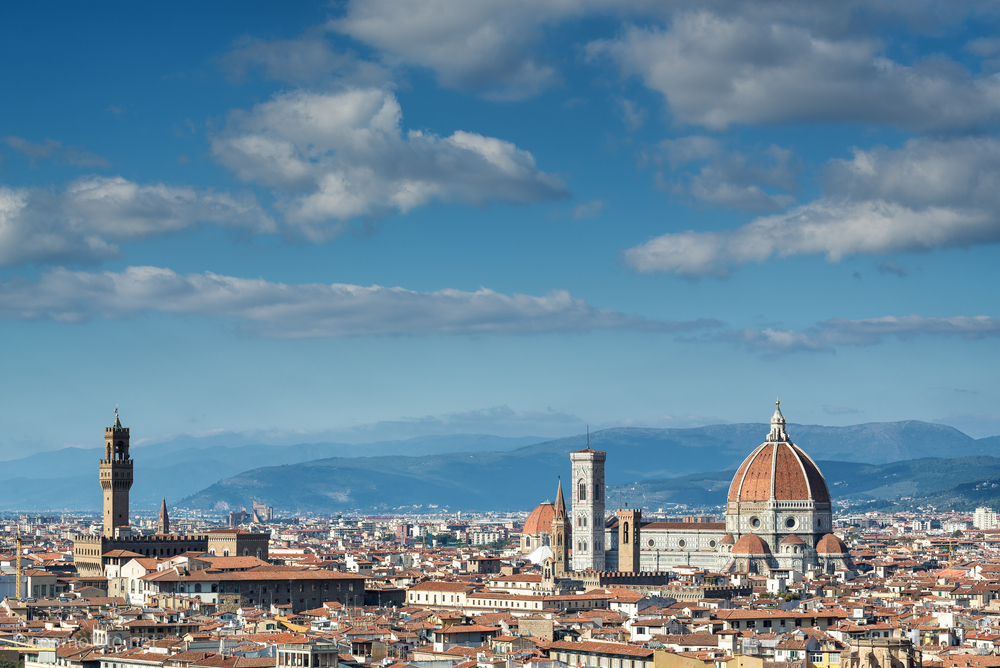 Florence, seen from the Piazza de Michelangelo