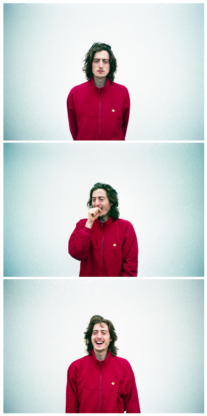 That red fleece tho.  Photography: Graham Tait