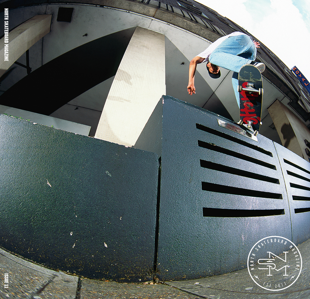 Kyron Davis - FS Crook  Photo: Graham Tait