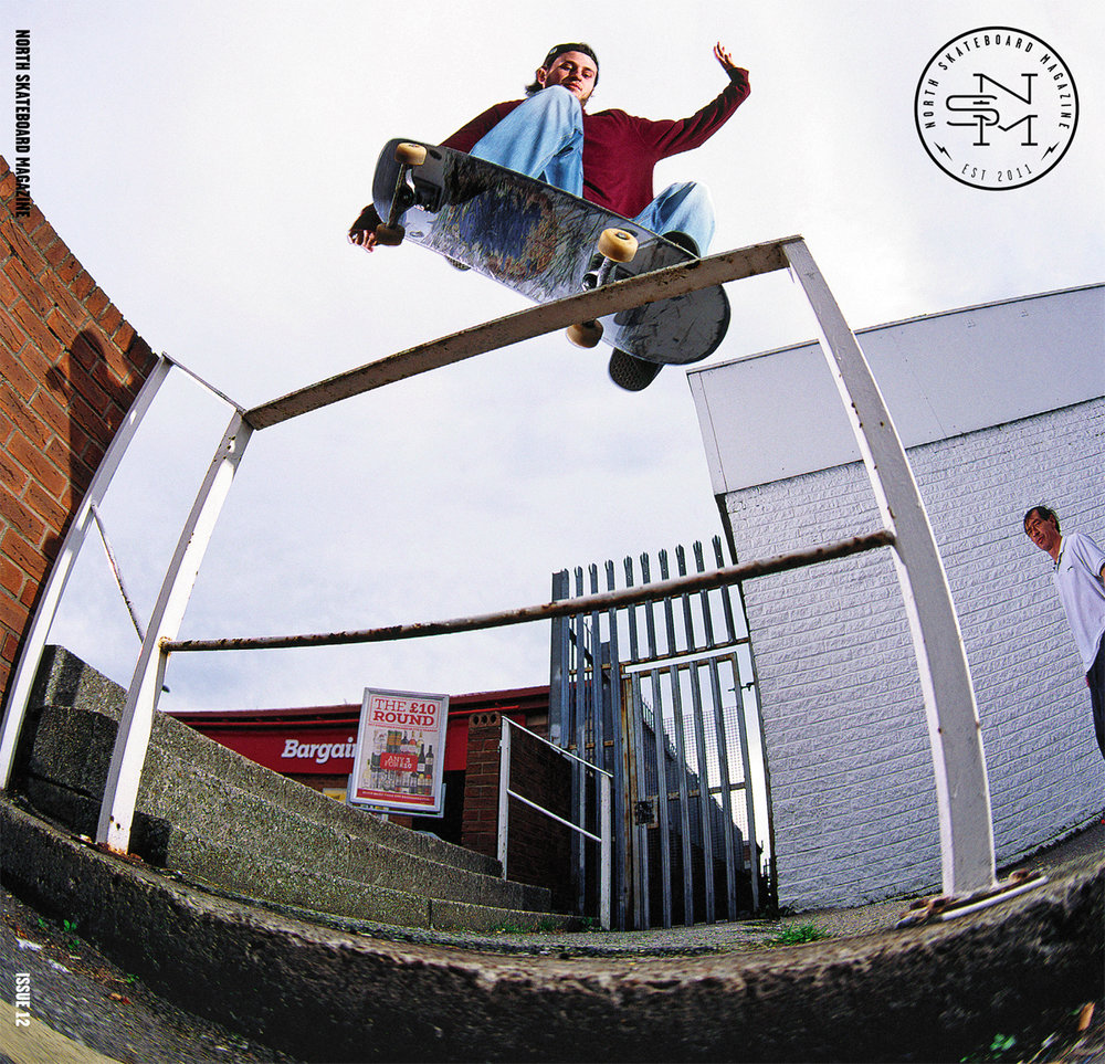 Cover: Myles Rushforth - FS Nosegrind Photo: Graham Tait