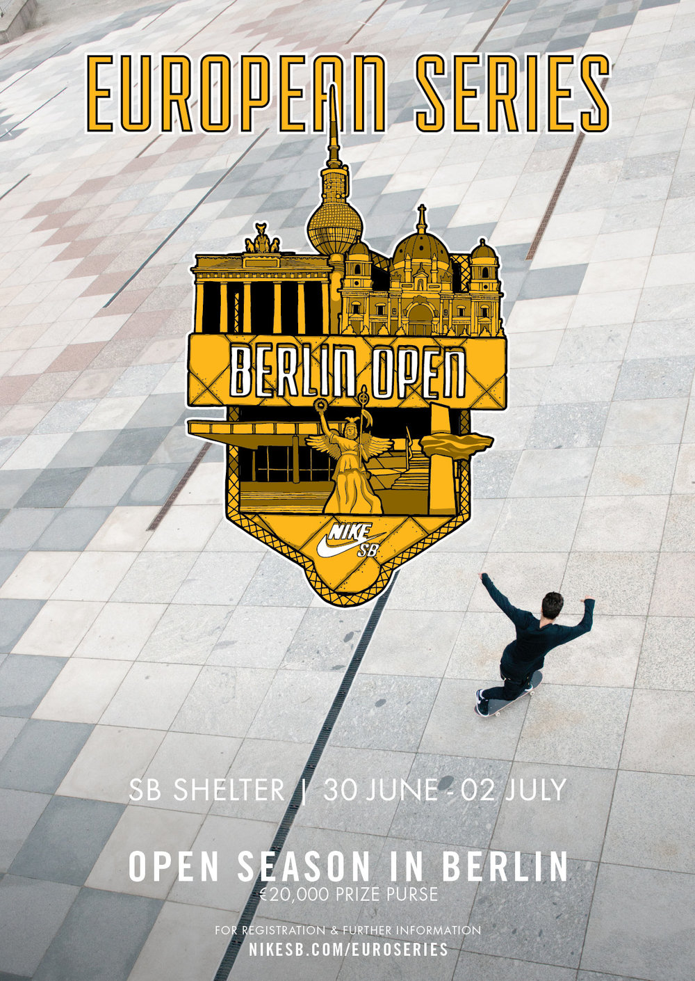 400937daa53bdc The Nike SB Shelter Open kicks off in Berlin on the 30th of June. For more  info click here.