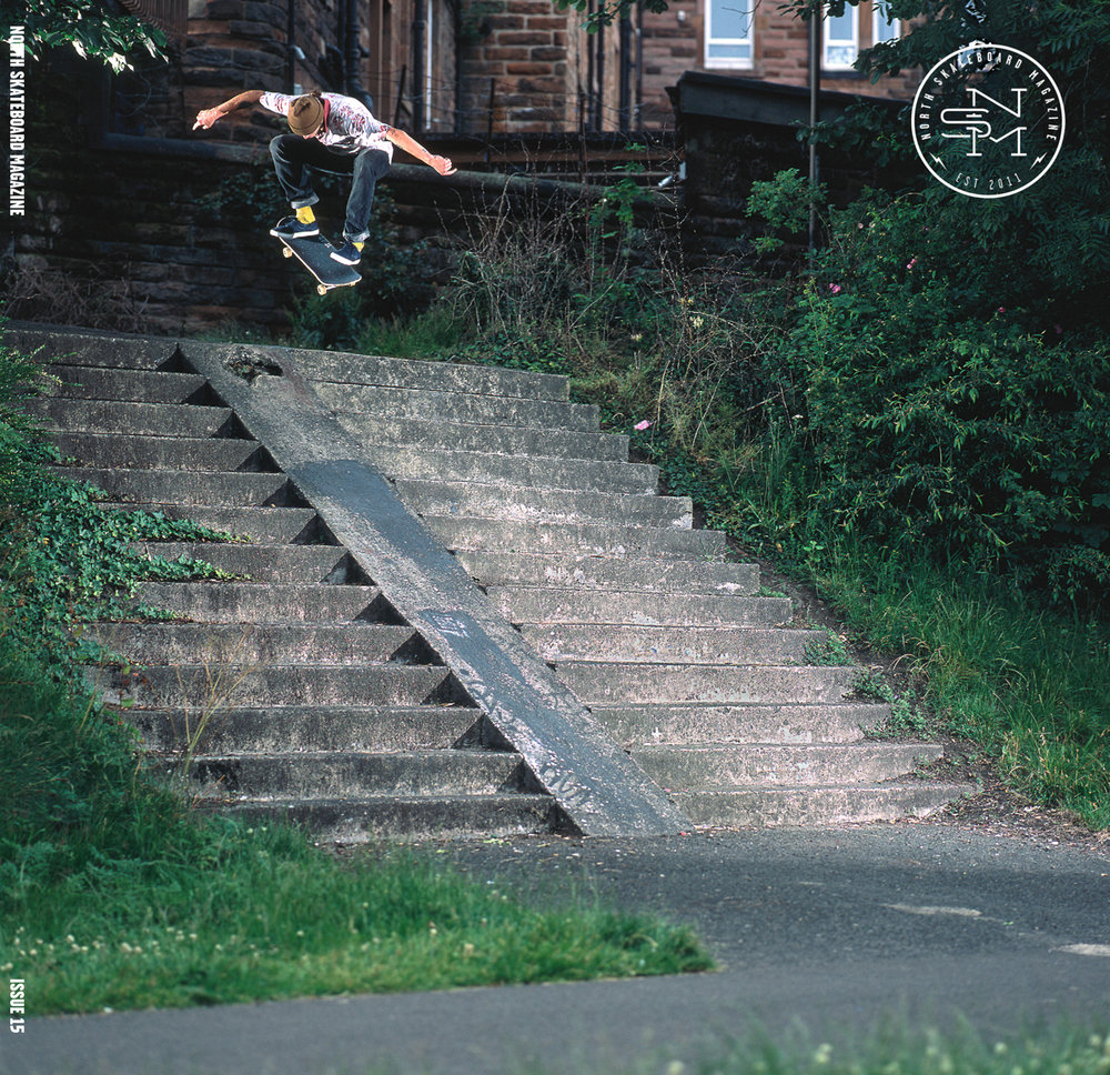 Cover: Freddie Lusk - Kickflip  Photographer: Graham Tait
