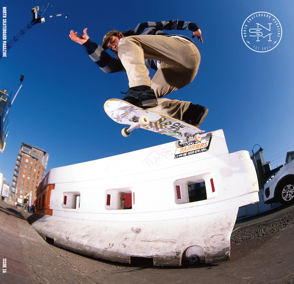 Cover: Joe Gavin - Nollie BS Tailslide  Photo: Graham Tait