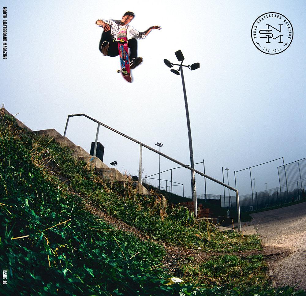 Cover: Lewi Johnson - 360 Flip  Photographer: Graham Tait