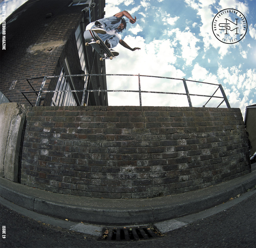 Cover: Korahn Gayle - Switch Heelflip  Photographer: Graham Tait